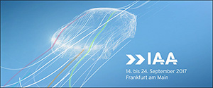 Autosalon van Frankfurt 2017 IAA - Overzicht en premières