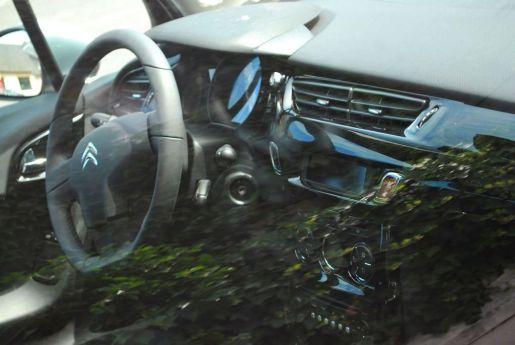 Nieuwe Citroen C3 Gespot op straat