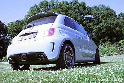 Rijtest Fiat Abarth 500