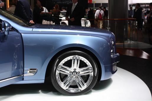 Bentley Mulsanne Autosalon Frankfurt 2009 IAA