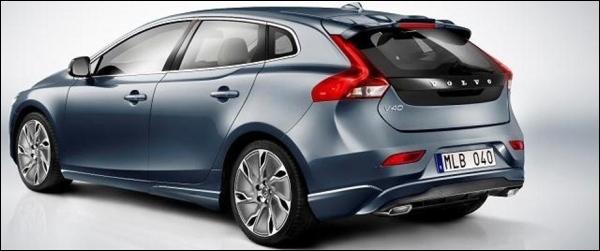 Gelekt Volvo V40 2012