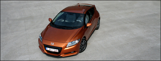 Honda CR-Z Rijtest