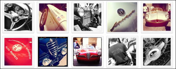 Alfa Romeo Mille Miglia 2012