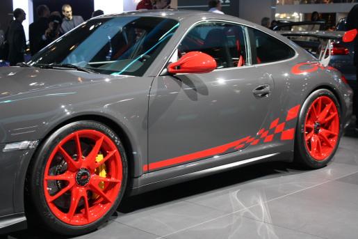 Porsche 911 GT3 RS Frankfurt 2009
