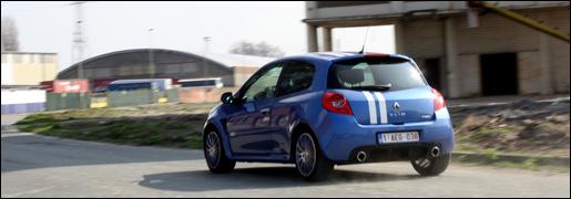 Renault Clio R.S. Gordini rijtest