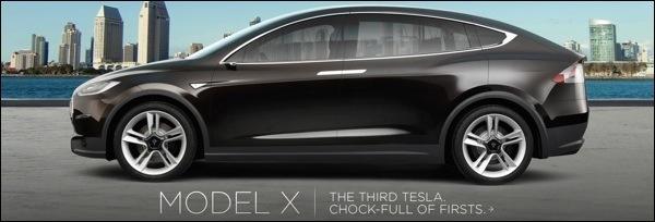 Tesla Model X Crossover 2012