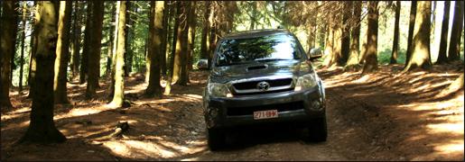 Toyota Hilux rijtest