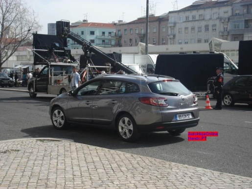 Renault Megane Grandtour Spyshots