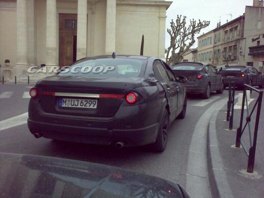 BMW 5-Reeks Spyshots