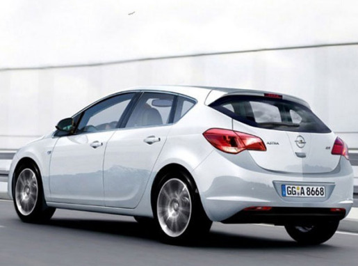 Opel astra 2010 nieuwe