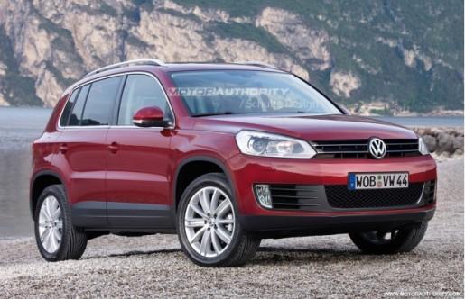 Impressie Volkswagen Tiguan Facelift