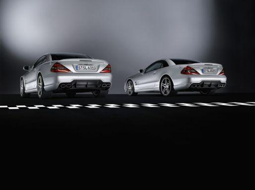 Mercedes SL 63 en 65 AMG Roadster
