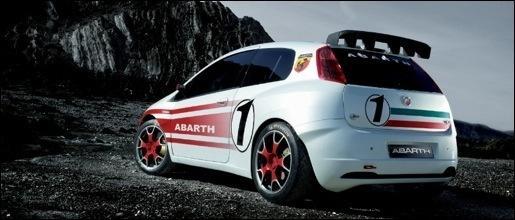 Abarth Grande Punto S2000 WRC