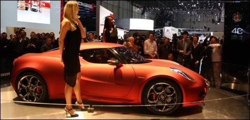 Alfa Romeo 4C Concept Geneva