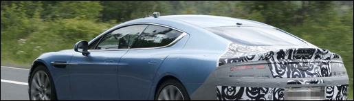 Aston Martin Rapide S - spyshots
