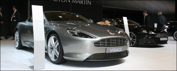 Aston Martin Autosalon Brussel