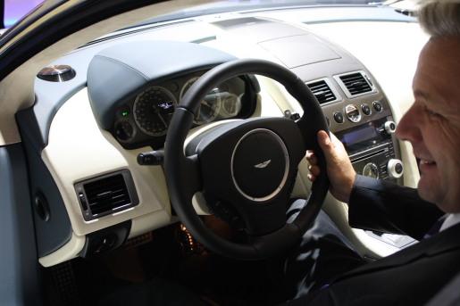 Autosalon Frankfurt 2009 IAA Aston Martin Rapide