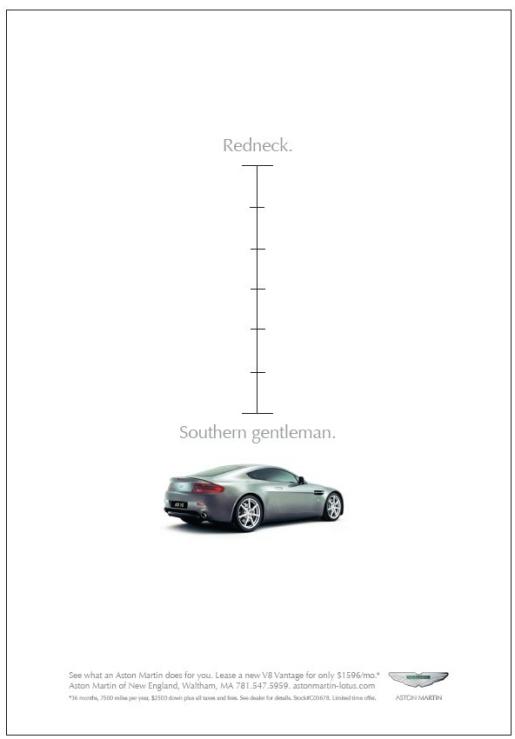 Aston Martin Redneck Gentleman