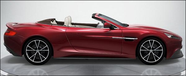 Spyshots: v Aston Martin Vanquish Volante