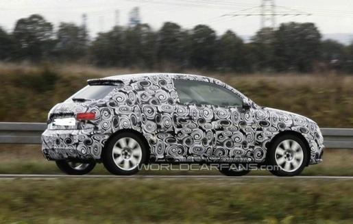 Spyshots: Audi A1 Prototype