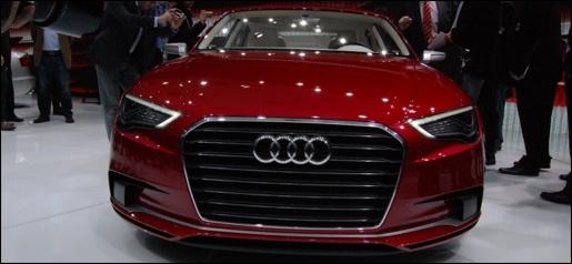 Audi A3 Sedan Concept Geneva