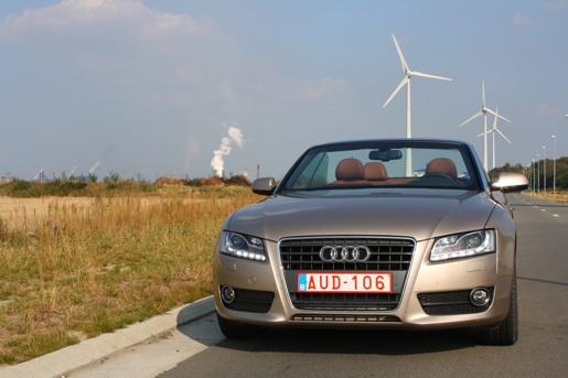 Audi A5 Cabrio 2.7 TDI Rijtest