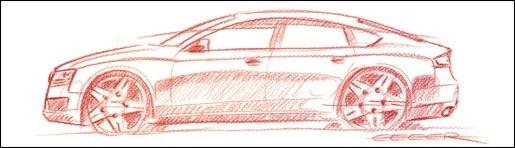 Teaser: Audi A5 Sportback