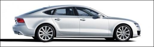 Audi A7 Gelekt