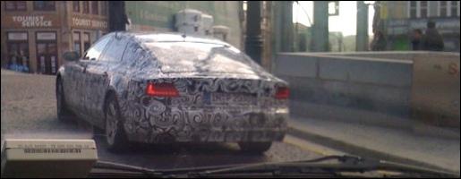 Gespot: Audi A7 Portugal
