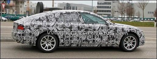 Audi A7 Spyshots