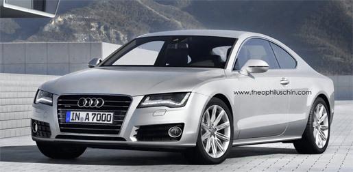 Audi A7 coupe impressie