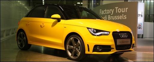 Audi A1 Sportback Brussels