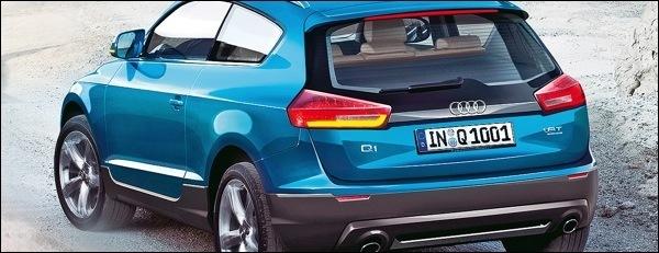 Audi Q1 Render