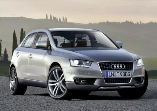 Audi Q5 Impressiefoto
