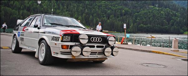 Gespot Audi Quattro