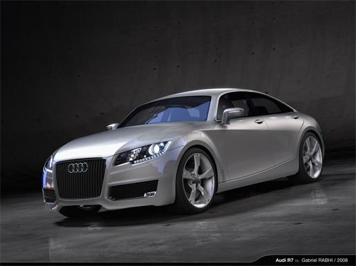 Audi R7 Concept study