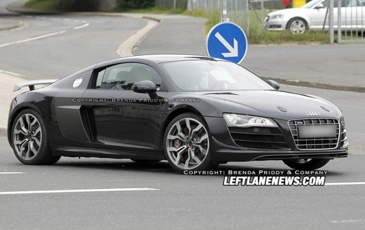 Spyshots: Audi R8 ClubSport