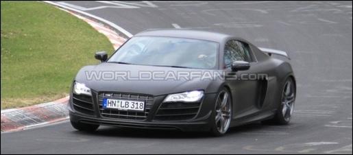 Audi R8 V10 Clubsport Ring Spyshot
