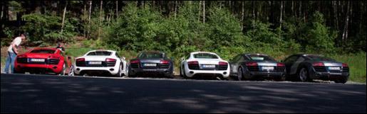 Audi R8 V10 spot combo