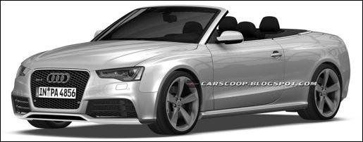 Audi RS5 Cabrio Patentfoto