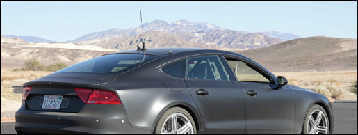 Spyshots Audi RS7
