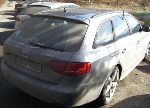 Spyshots Audi S4 Avant 2009