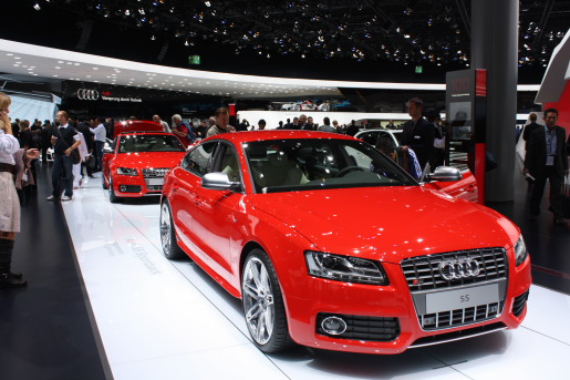Autosalon Frankfurt 2009 Audi S5 Sportback