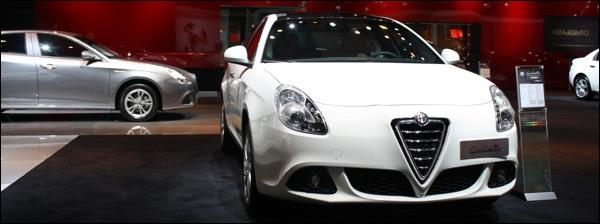 Alfa Romeo Autosalon Brussel 2012