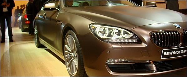 BMW 6-Reeks Gran Coupe Autosalon Brussel
