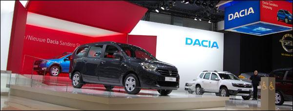 Autosalon Brussel 2013 Dacia