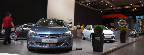 Autosalon Brussel 2013 Opel