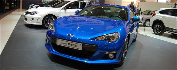 Autosalon Brussel 2013 Subaru