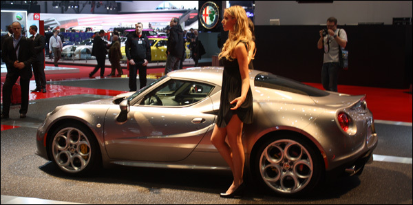 Autosalon gen ve 2013 live alfa romeo for Salon geneve auto