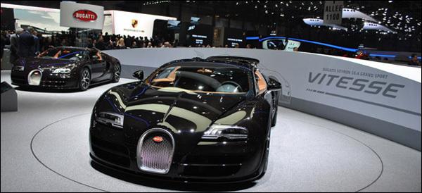 Autosalon Geneve 2013 Bugatti